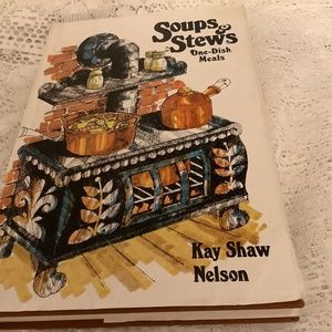 Vintage 1974 Soups & Stews One Dish Meals Cookbook